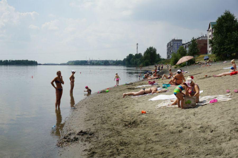 Пляж в районе Зеленого клина - самый протяженный. Фото: Иван Зяблицкий