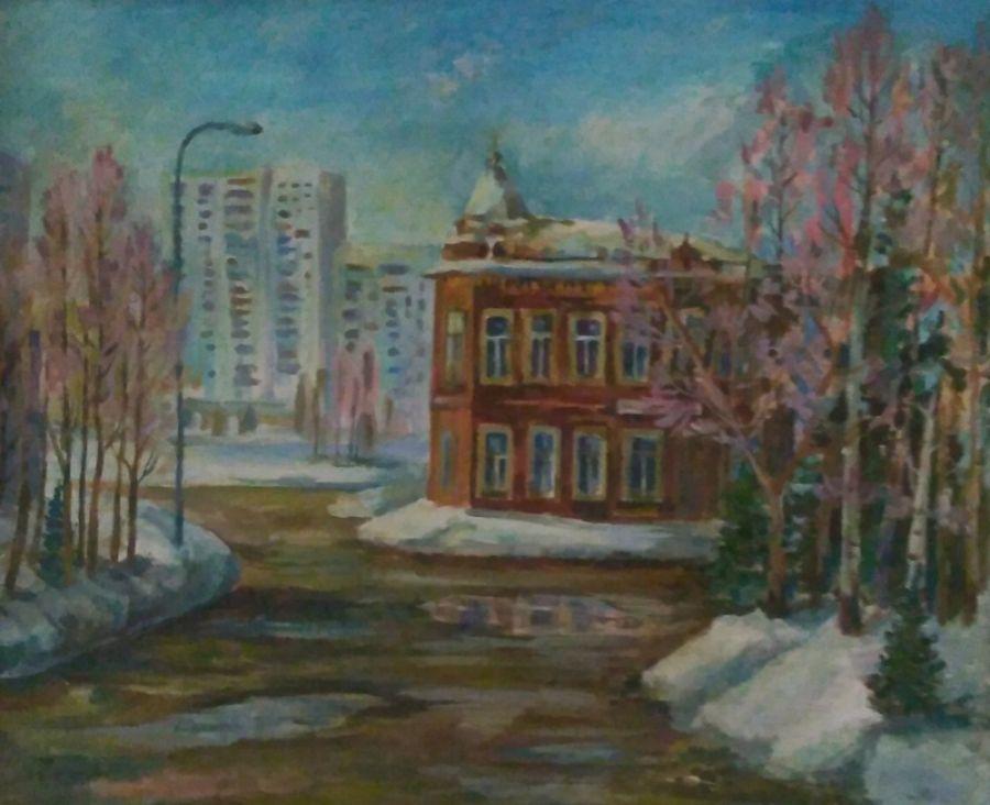 Юбилею Бийска юные художники посвятили свои работы