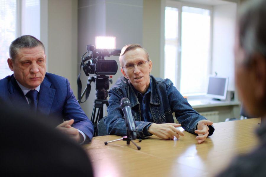 Данил Голотвин и Сергей Белоконь.
