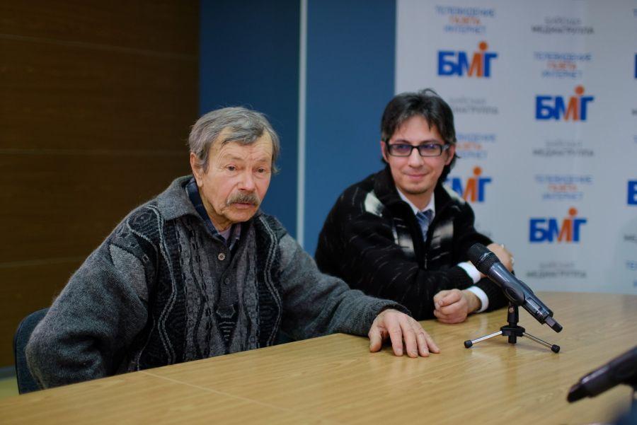 Борис Старовойтов и Конрад Маюнов.