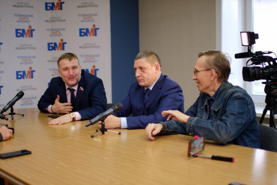 Руслан Курасов, Данил Голотвин и Сергей Белоконь.
