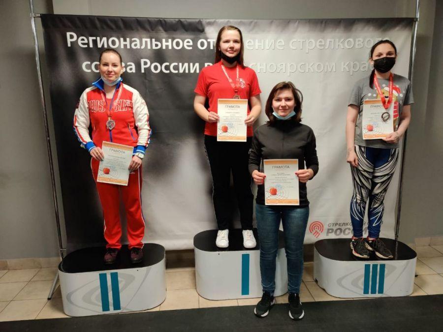 Бийчанка взяла золото на чемпионате СФО в стрельбе из пневматической винтовки