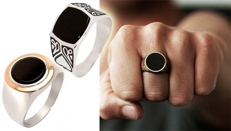 Мужские кольца — актуальные украшения