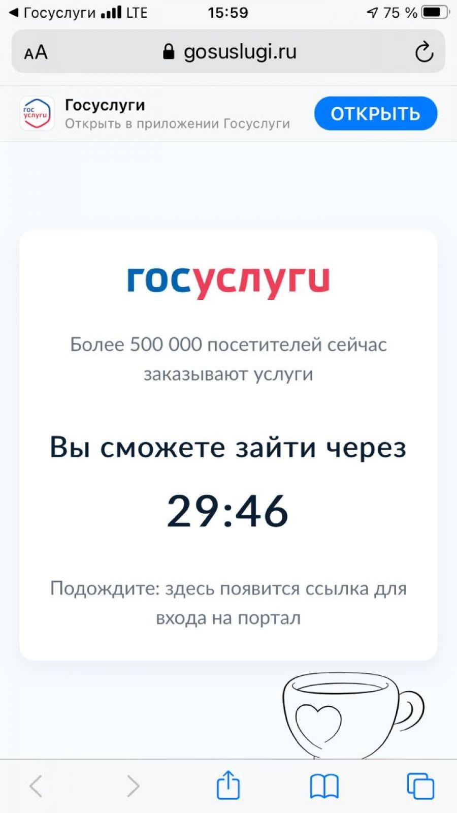 Желающие оформить выплаты на детей россияне обрушили портал «Госуслуги»