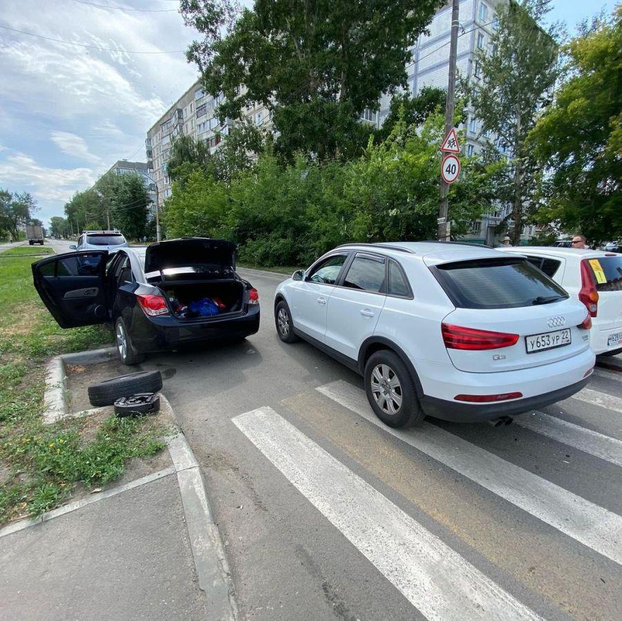 Бийчане предлагают установить лежачего полицейского на Чайковского-Ленинградской
