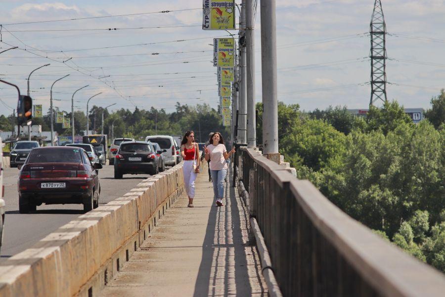 В Бийске за коммунальным мостом будут следить «умные» видеокамеры