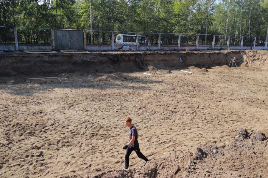 В Бийском районе в рамках адресной программы капитально ремонтируют школу