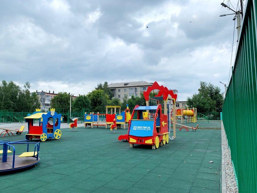 В Бийске завершили ремонт Водяновской площадки
