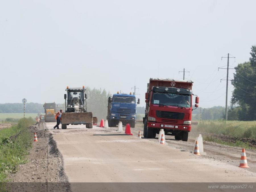 На Алтае федеральную трассу планируют отремонтировать за пять лет
