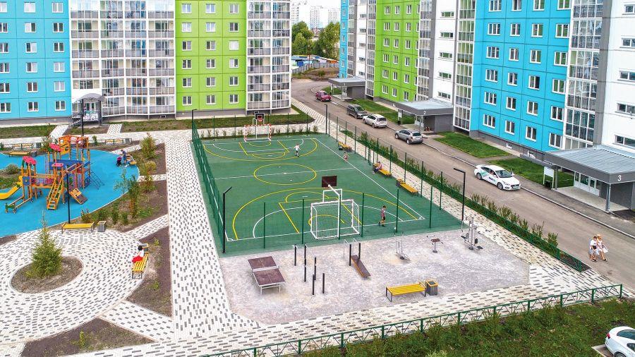 В Бийске начались работы по строительству ледовой арены на «Прогрессе»