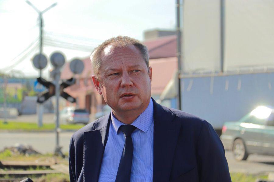 Александр Студеникин называет ремонт дороги на Зеленке одним из самых масштабных проектов минувших лет