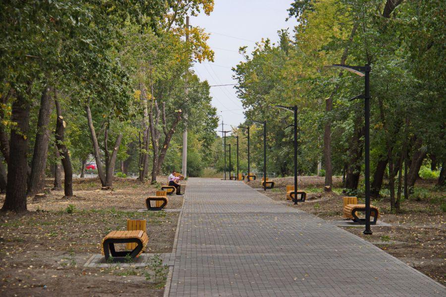 Бийский сквер в поселке Нагорный прошел приемку администрацией города