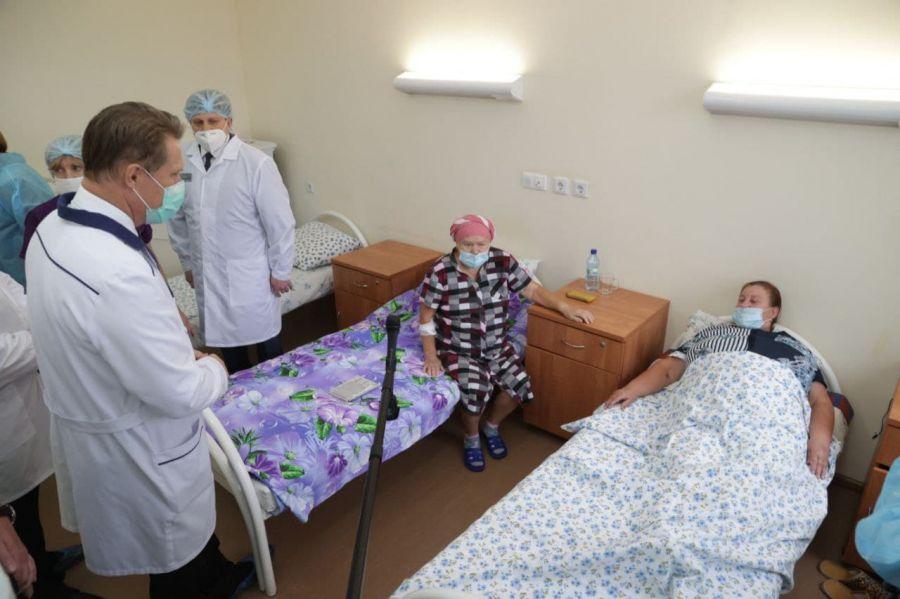 300 млн на ремонт поликлиник: итоги визита Михаила Мурашко в Алтайский край
