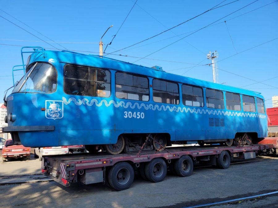 Московские трамваи могут выйти на линию в Бийске уже в этом году