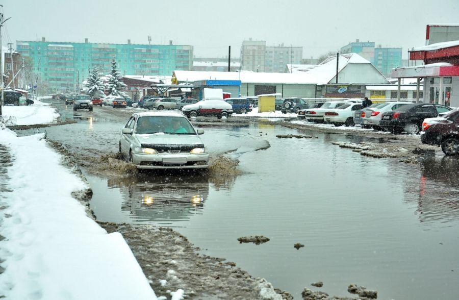 Улицы Сенную и Ленинградскую отремонтируют в Бийске в 2022 году